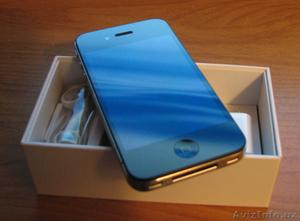 Новый Apple iPhone 4 16GB/32GB оригинальные, сделанные в США - Изображение #1, Объявление #249841